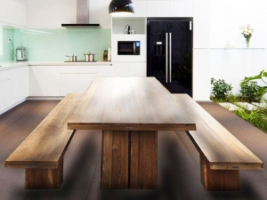 Teak Furniture Malaysia indoor dining tables kobe dining table