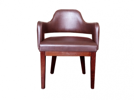 Teak Furniture Malaysia indoor dining chairs vip arm chair