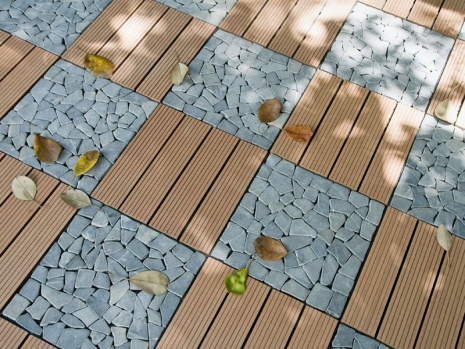 Teak Furniture Malaysia flooring tiles brown composite tile 30x30