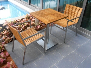 Teak Furniture Malaysia outdoor chairs accura dining chair