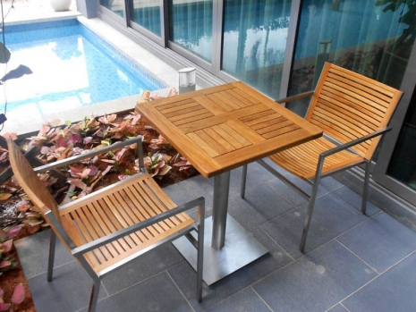 Teak Furniture Malaysia outdoor tables accura square dining table