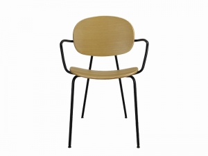 Teak Furniture Malaysia indoor dining chairs divolo arm chair