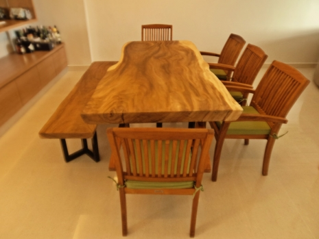 Teak Furniture Malaysia indoor dining tables mehfil dining table