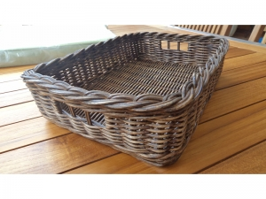 Teak Furniture Malaysia miscellaneous rattan tray l33