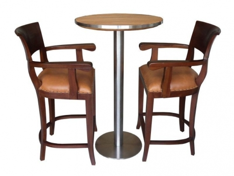 Teak Furniture Malaysia bar chairs veron arm chair