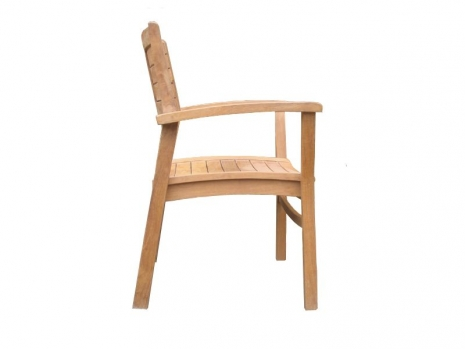 Teak Furniture Malaysia indoor dining chairs florence stacking chair
