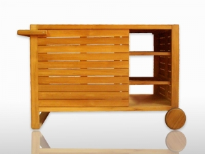 Teak Furniture Malaysia miscellaneous florence trolley