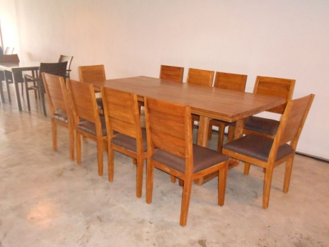 Teak Furniture Malaysia indoor dining tables havana dining table l120