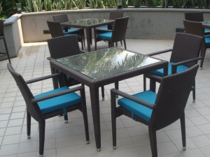 Teak Furniture Malaysia outdoor tables hawaii glasstop table l90