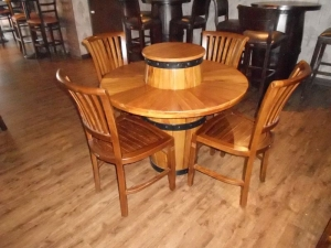healy dining table