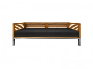 Teak Furniture Malaysia outdoor sofa accura sofa 2 seater