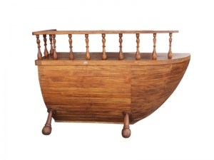 Teak Furniture Malaysia miscellaneous marina reception desk