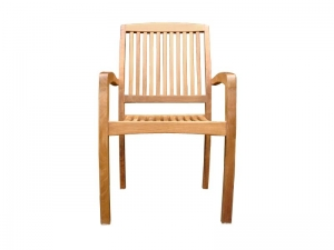milan stacking chair