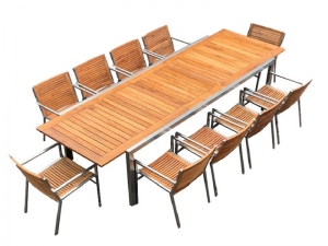 Teak Furniture Malaysia outdoor tables accura extension table