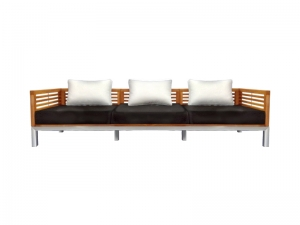 Teak Furniture Malaysia outdoor sofa accura sofa 3 seater