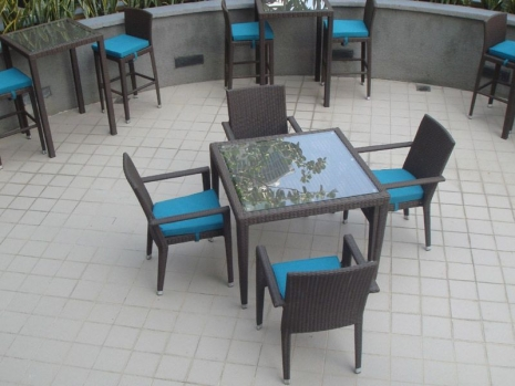 Teak Furniture Malaysia outdoor tables hawaii glasstop table l180