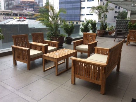 Teak Furniture Malaysia outdoor sofa maldives sofa 2 seater