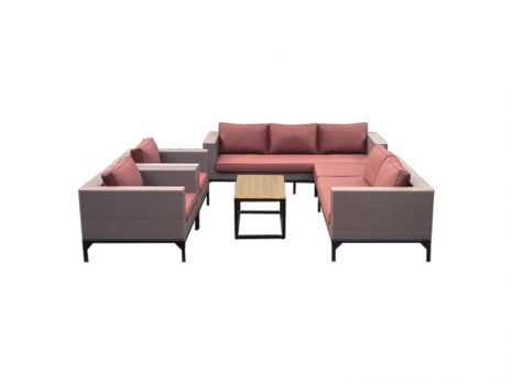 Teak Furniture Malaysia outdoor sofa rio sofa