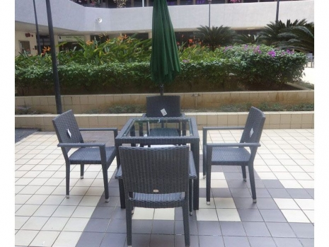 Teak Furniture Malaysia outdoor tables panama glasstop table l150