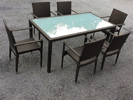 Teak Furniture Malaysia outdoor tables panama glasstop table l180