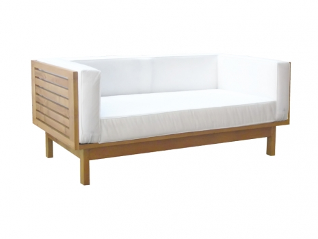 Teak Furniture Malaysia outdoor sofa scania sofa 2 seater