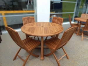 Teak Furniture Malaysia outdoor tables tiara round table d120