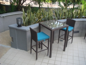 Teak Furniture Malaysia bar tables panama bar table