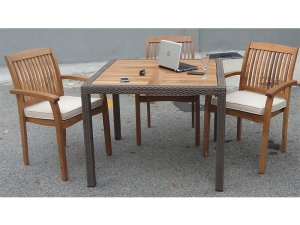 panama teaktop table
