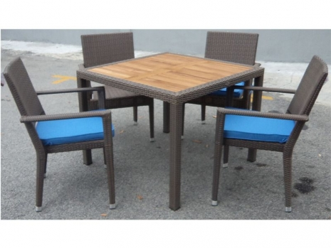 Teak Furniture Malaysia outdoor tables panama teaktop table 100x100x78