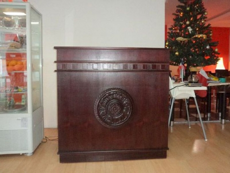 Teak Furniture Malaysia miscellaneous paris reception desk
