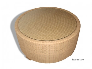 hawaii round coffee table
