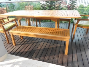 Teak Furniture Malaysia outdoor benches tiara bench