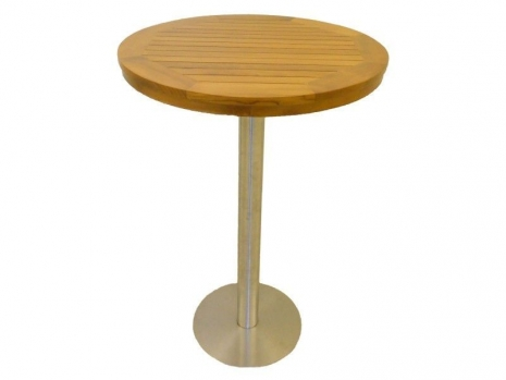 Teak Furniture Malaysia bar tables accura round bar table