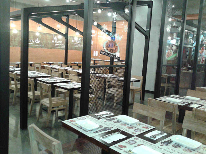 restaurant furniture kyo chon