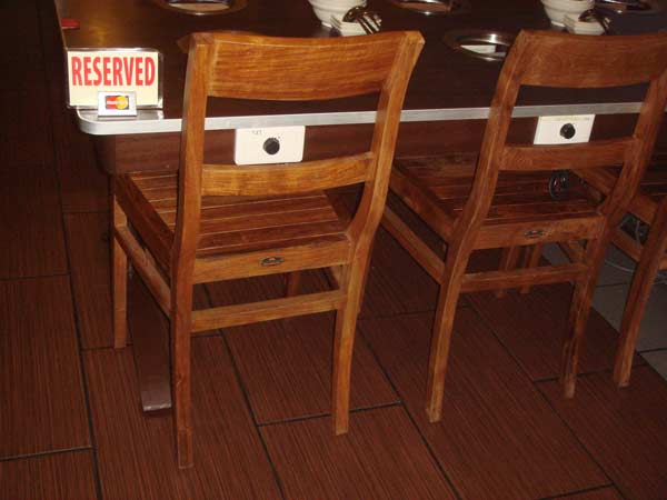 restaurant furniture the steamboat ketam village