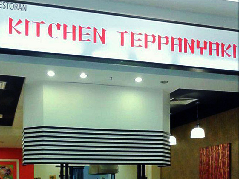 restaurant furniture teppanyaki kitchen
